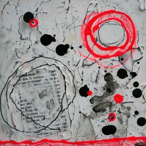 Fragments de vie XIII | 8 x 8 po | Techniques mixtes sur toiles