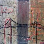 46° 52′ 46″ N 71° 08′ 04″ W (Ile d'Orléans) | 91 x 91 cm | Techniques mixtes sur toile