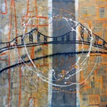45° 31′ 18″ N 73° 32′ 31″ W (Jacques-Cartier) | 91 x 91 cm | Techniques mixtes sur toile